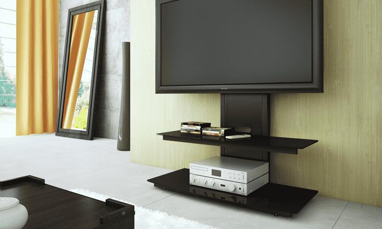 как спрятать провода от телевизора на стене в мебель фото