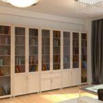 книжный шкаф широкий