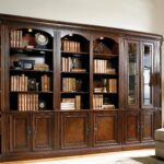 книжный шкаф темный