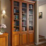 книжный шкаф классика