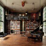 шкаф для книг в кабинете