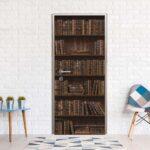 шкаф для книг в квартире