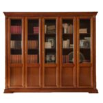 шкаф для книг классика