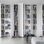 шкаф для книг белый