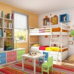 спальня для мальчиков цветная