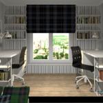 спальня для мальчиков рабочее место