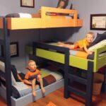 спальня для мальчиков троих