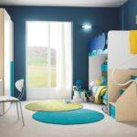 спальня для мальчиков синяя