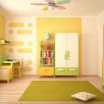 спальня для мальчиков желтая