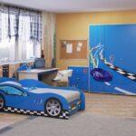 комната для мальчиков синяя