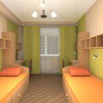 комната для мальчиков оранж