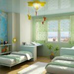комната для мальчиков светлая