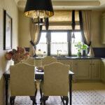 короткие шторы на кухне идеи дизайна
