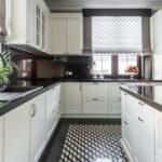 короткие шторы на кухне фото декора