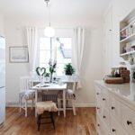 короткие шторы на кухне фото варианты