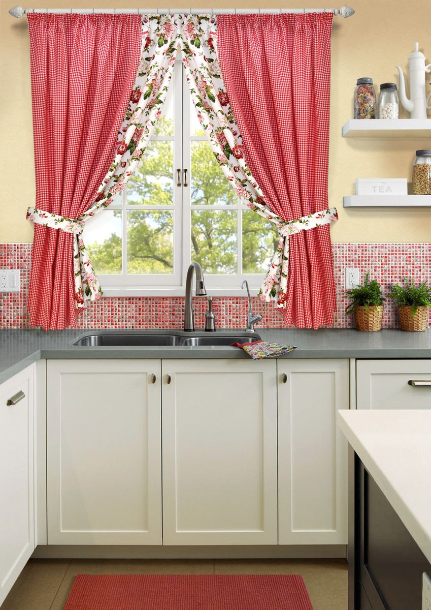 случаи оформление окна на кухне фото своими руками течение