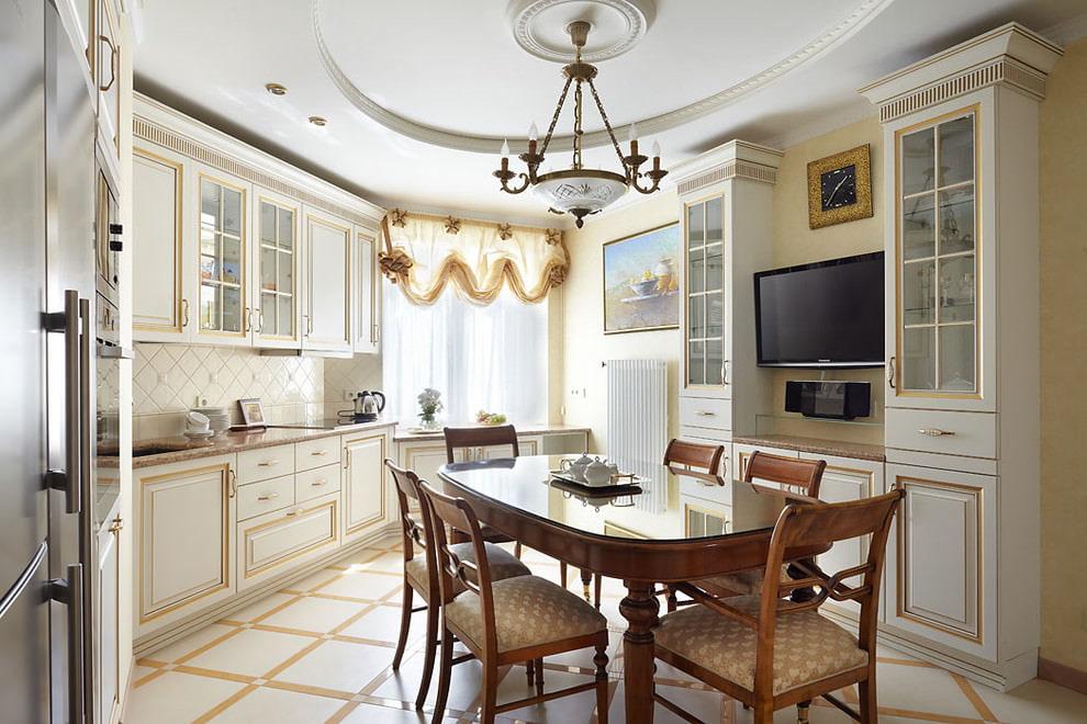 короткие шторы на кухню идеи