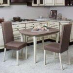красивые кухонные столы декор идеи