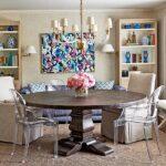 красивые кухонные столы интерьер
