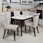 красивые кухонные столы оформление фото