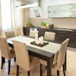 красивые кухонные столы фото оформление