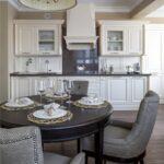 красивые кухонные столы виды