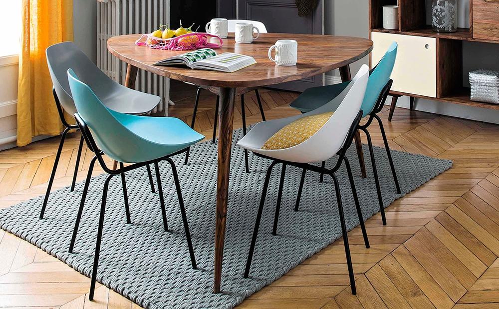 красивые кухонные столы треугольные
