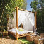 кровать для дачи декор фото