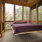 кровать для дачи декор идеи