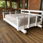 кровать для дачи фото