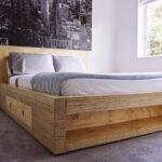 кровать из дсп интерьер идеи