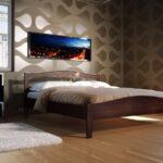 кровать из дсп оформление