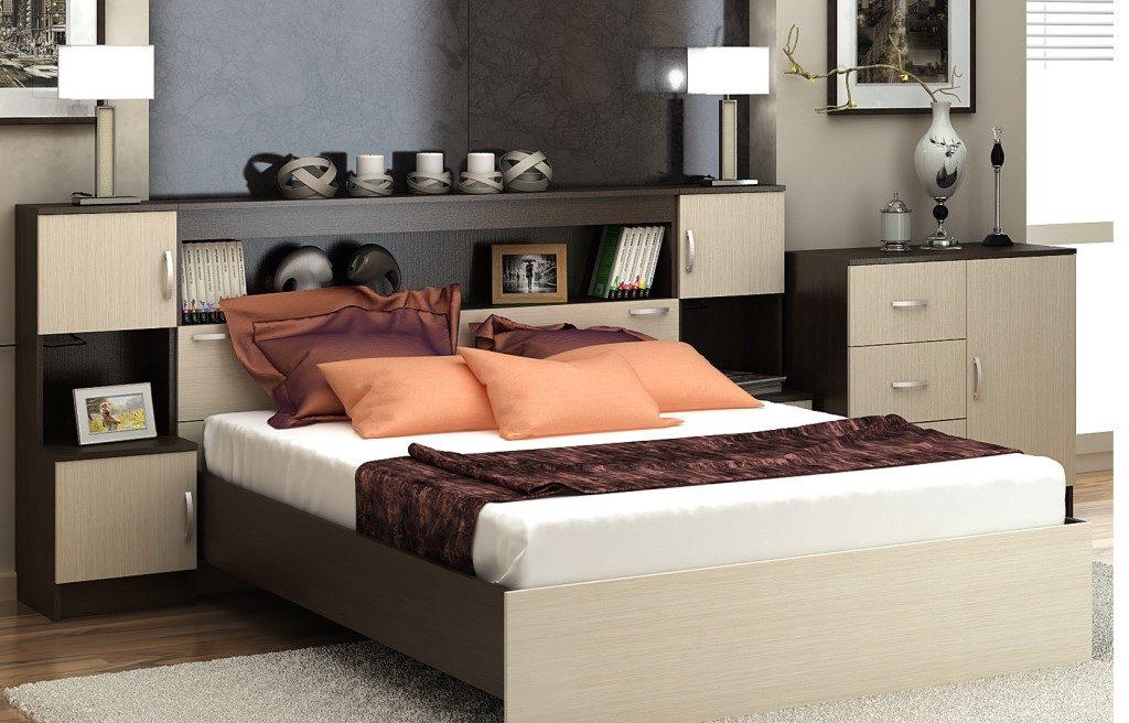 кровать с модулями
