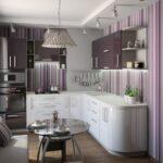 кухня 10 кв метров с диваном дизайн идеи