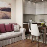 кухня 10 кв метров с диваном идеи дизайна