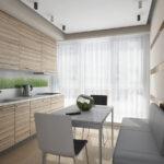 кухня 10 кв метров с диваном декор фото