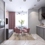 кухня 10 кв метров с диваном фото декор