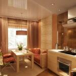 кухня 10 кв метров с диваном декор идеи