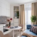 кухня 10 кв метров с диваном интерьер идеи