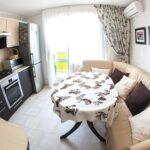 кухня 10 кв метров с диваном идеи интерьер
