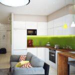 кухня 10 кв метров с диваном идеи интерьера