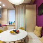 кухня 10 кв метров с диваном идеи оформление