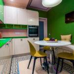 кухня 10 кв метров с диваном идеи оформления