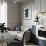кухня 10 кв метров с диваном варианты фото