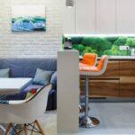 кухня 10 кв метров с диваном фото вариантов