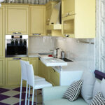кухня 10 кв метров с диваном фото видов