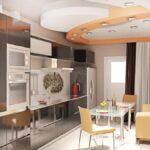 кухня 10 кв метров с диваном виды дизайна