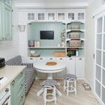 кухня 10 кв метров с диваном виды декора