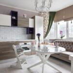 кухня 10 кв метров с диваном дизайн