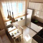 кухня 10 кв метров с диваном фото дизайна